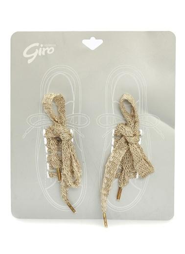 Divarese Ayakkabı Bağı Altın